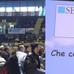 """Evento nazionale """"Manovre di disostruzione pediatriche e sicurezza a tavola"""", Pala Ruffini di Torino 24 ottobre 2015"""