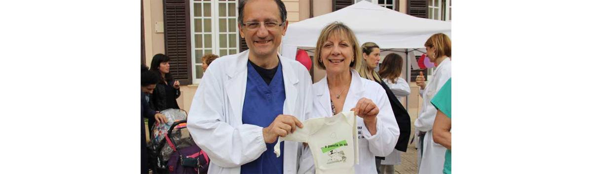 Centro SIDS dell'Ospedale Buccheri La Ferla di Palermo: informazione sulla riduzione del rischio SIDS a futuri mamme e papà, in occasione della festa della mamma