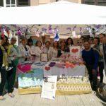 A Palermo, all'Ospedale Buccheri La Ferla con il Dott. Pomo, una giornata dedicata alle mamme, con i nostri body e le nostre borse per ricordare a tutti l'importanza delle raccomandazioni contro il rischio SIDS