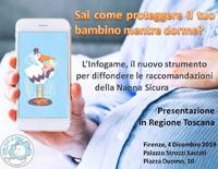 Presentazione 'INFOGAME' sulle regole della nanna sicura